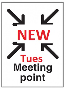 Tuesday Night Runs – New start location from 1 September 2015