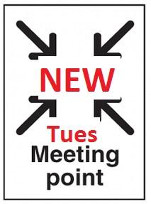 Tuesday Night Runs – New start location from 1 September 2015